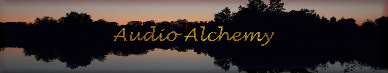 Audio Alchemy BLOG